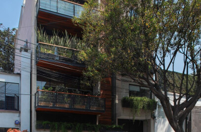 Pilares 26 Residential Building in Mexico City