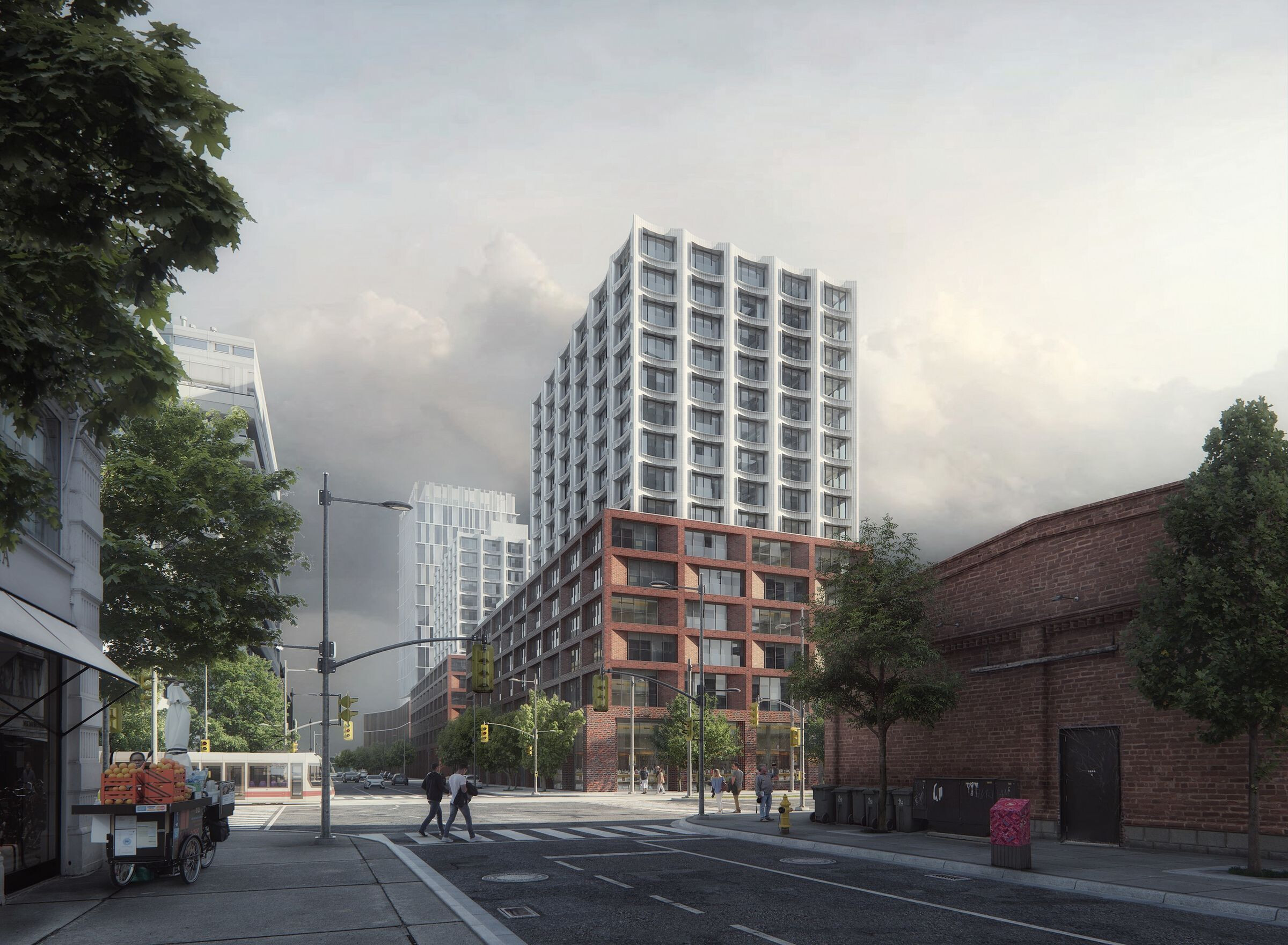 Affordable housing in downtown Toronto