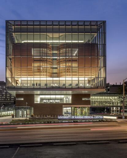 Health Education Building at KU Medical Center