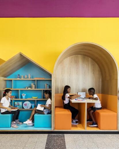 Hayarden School for children of refugees