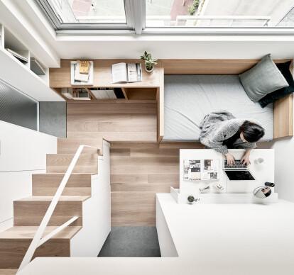 17.6-square-meter apartment