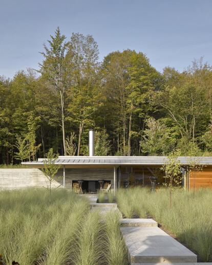 Quebec Pool House