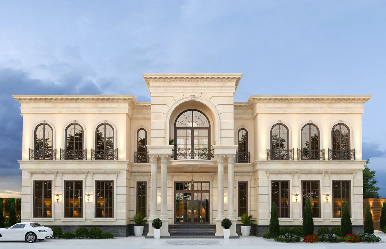 Neoclassical Palace Design