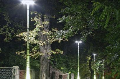COMPOSITE LIGHTING COLUMN DESIGNPOLE