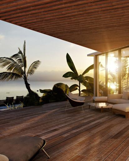 Modern Beach House Design Comelite Architecture Structure And Interior Design Archello