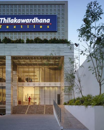 Thilakawardana Textiles Retail Interior | KWA Architects