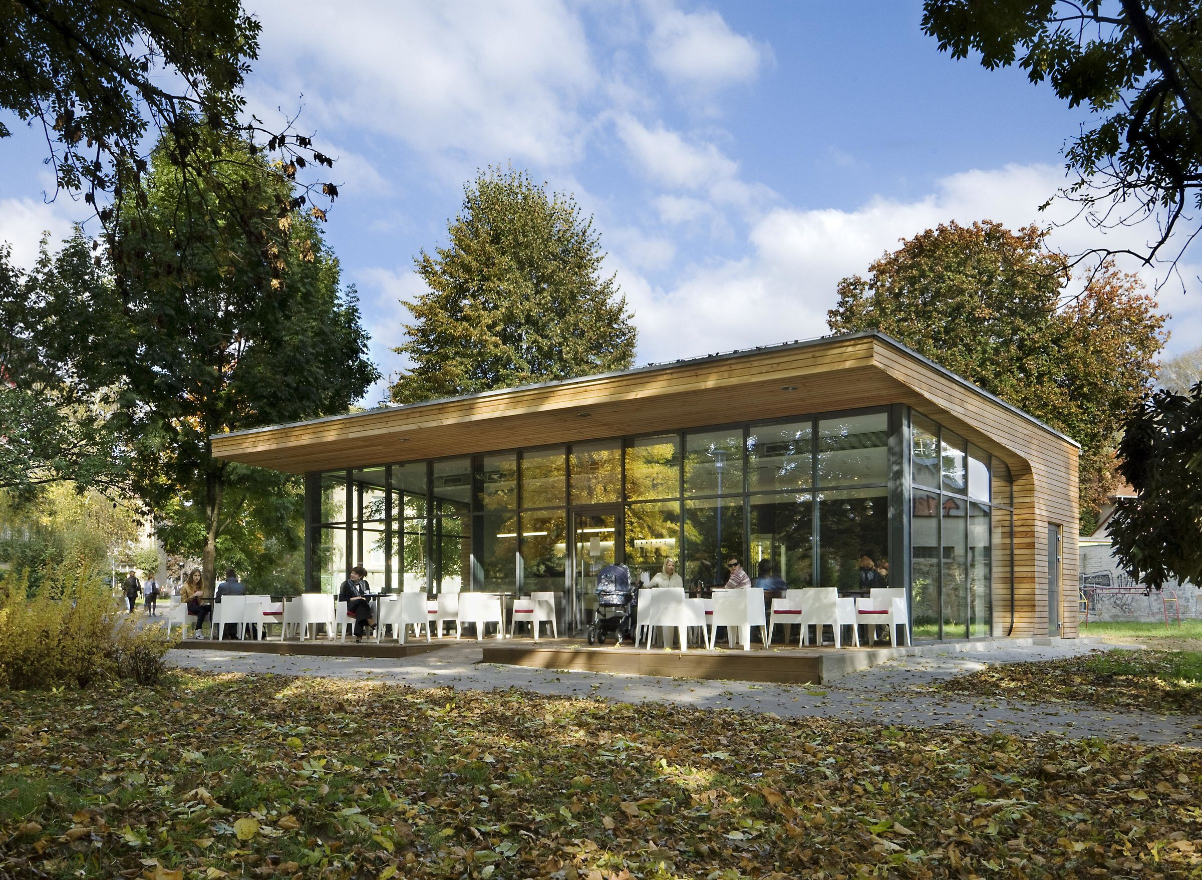 "Coffee house in Park ""Hurbanovesady"""