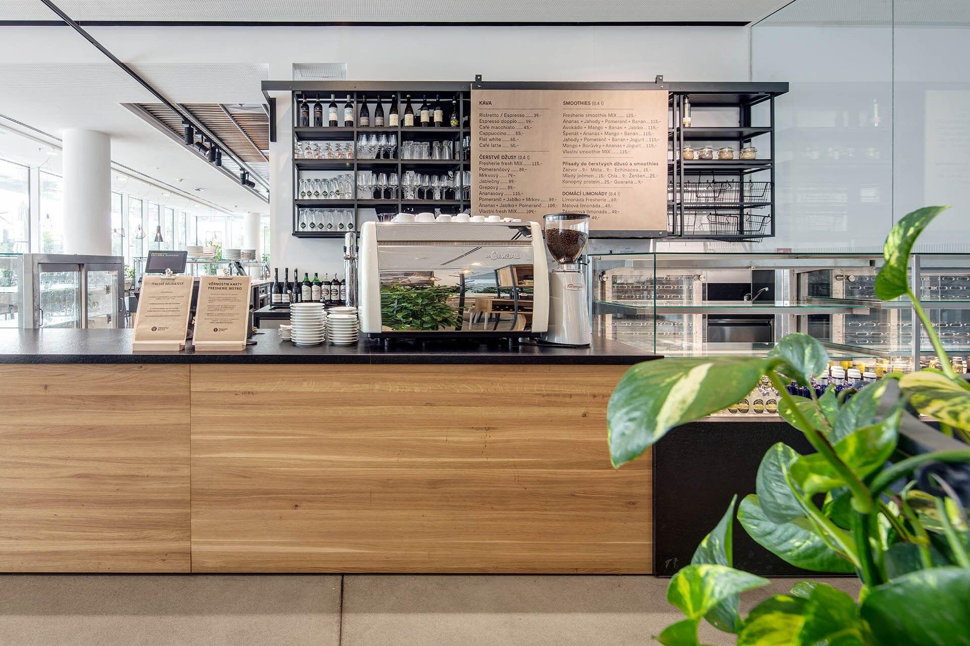 Fresherie Bistro City Green Court interior design