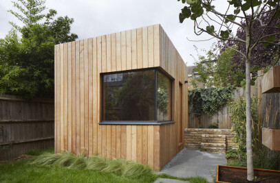 Harvist Road Glazed Envelope + Cedar Cabin