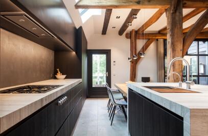 Interior design of residential farm