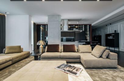 Art-filled apartment