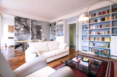 An apartment in Milan