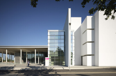 NEW ENTRANCE OF CAREGGI HOSPITAL
