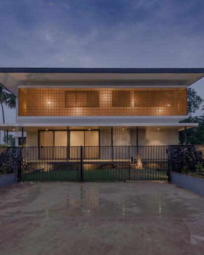 House in a Grove