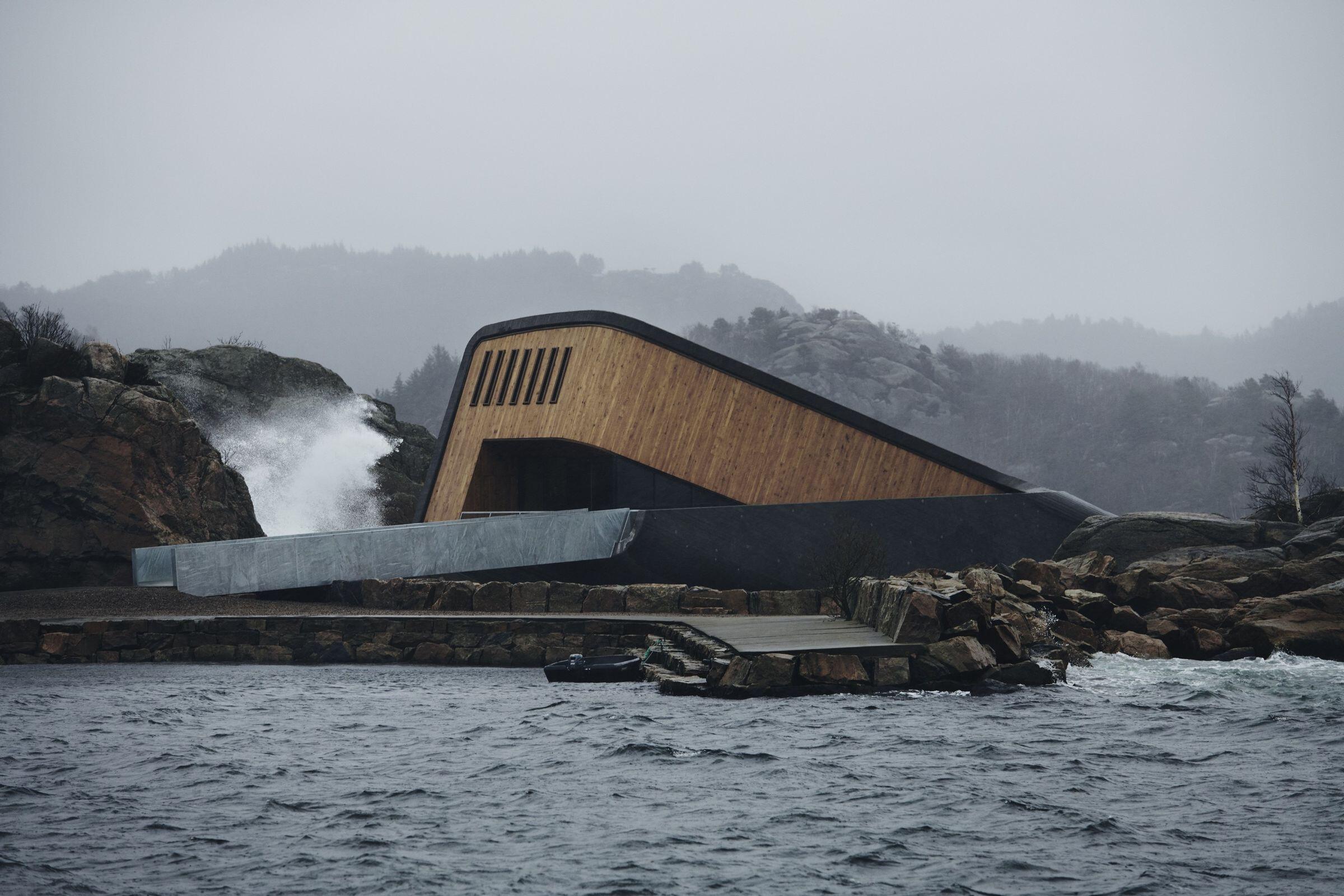 """""""Under"""", Europe's First Underwater Restaurant"""