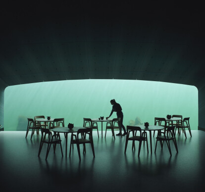 """Under"", Europe's First Underwater Restaurant"