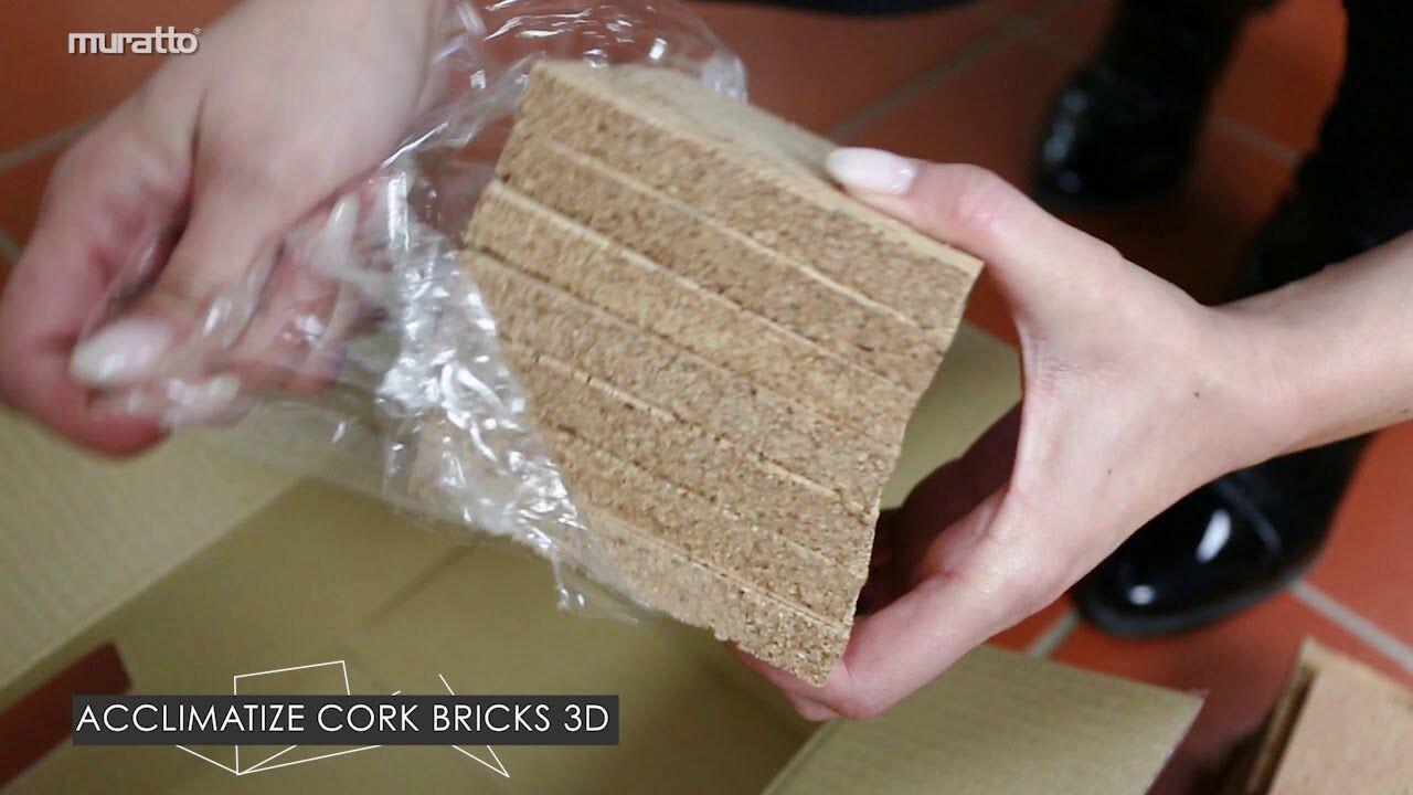 Muratto Installation Instructions - Cork Bricks 3D