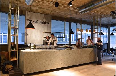 Le café Habitat
