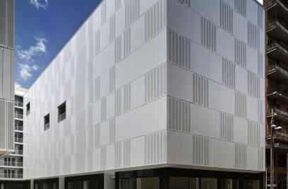 Reconstrucción de Residencial San Mateo en Lorca