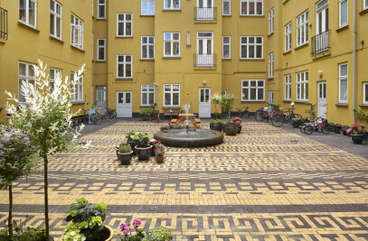 Classensgade Courtyard