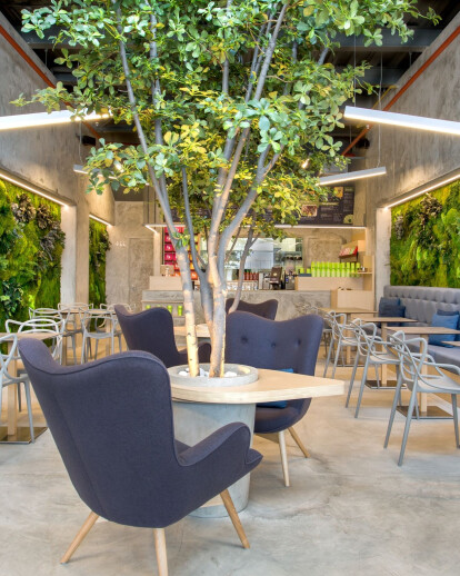 T-BAR - Indoor Green walls