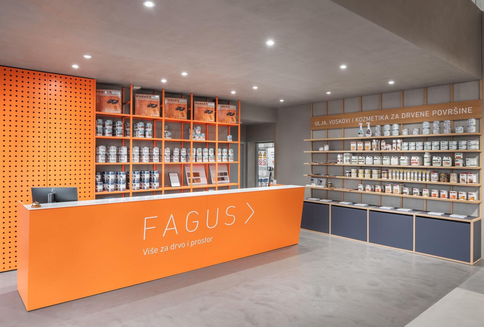 Fagus showroom