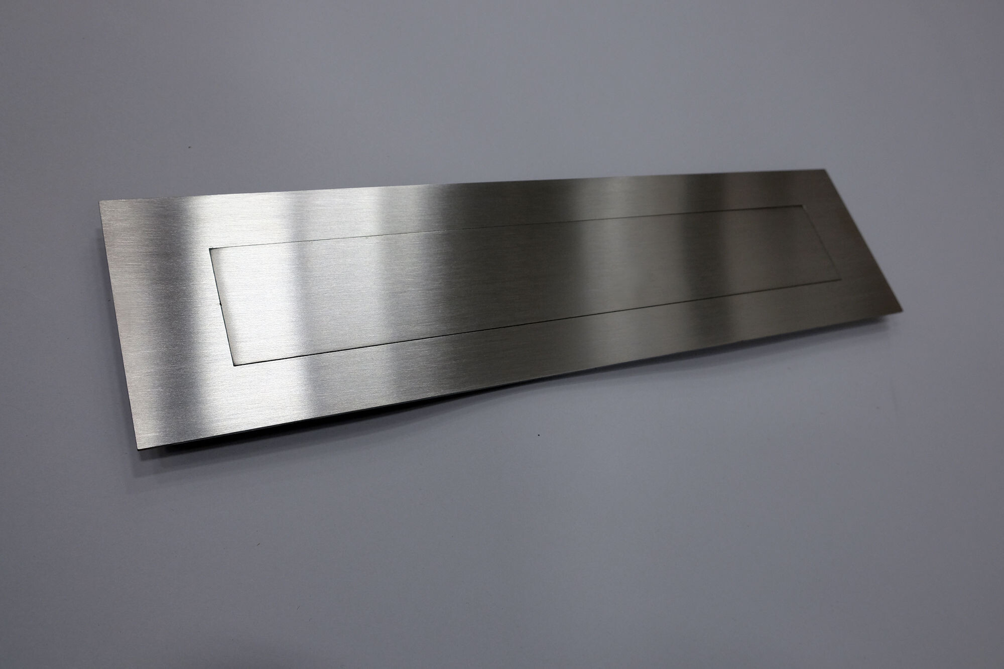 Letter Plate Mail Slot