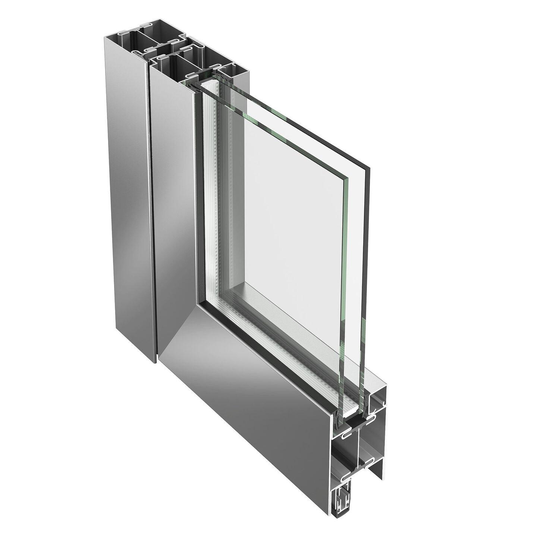 Janisol steel and stainless steel doors