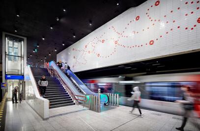 Station Renovation Metro Oostlijn