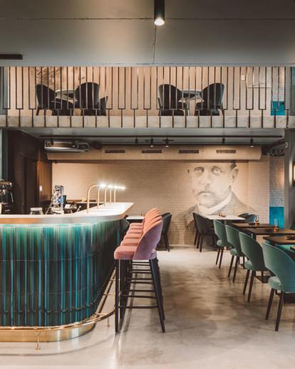 Restaurant Interieur Design.Octave Antwerp Be Aristide Archello