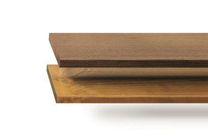 Thermo-treated outdoor wood