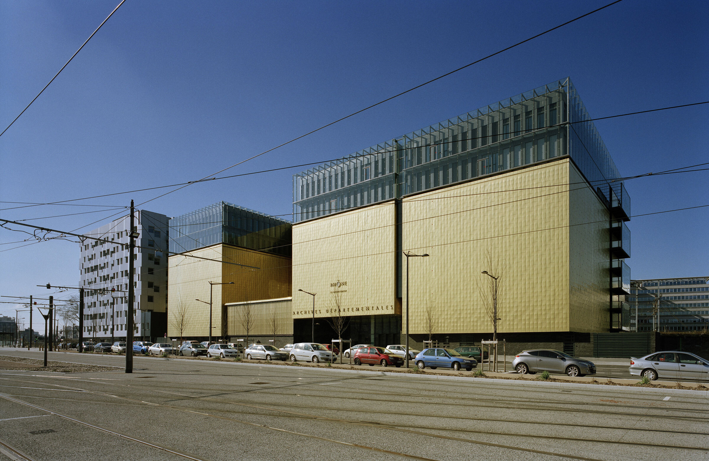 New Departmental Archives of the Rhône Building