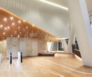 UNStudio Tower Lobby with INTOS interior
