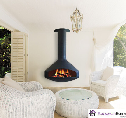 Paxfocus Outdoor Wood or Gas Fireplace