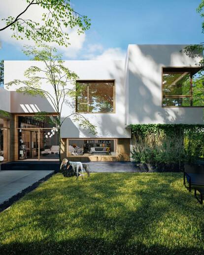 House near Lake Grivita