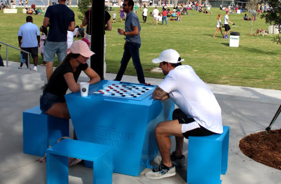 Dominoes Table