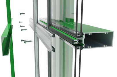 400TU High Performance Thermal Curtainwall Framing