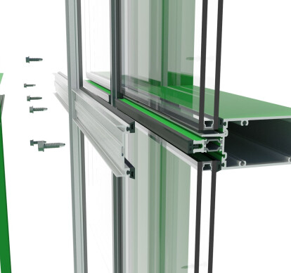 400TU High Performance Thermal Curtainwall Framing