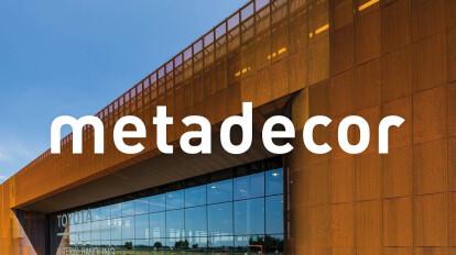 Toyota Material Handling Ede | MD Strekmetaal-Corten | Metadecor | Kampen