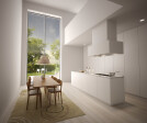 Many apartments have sliding glass partitions measuring over 5 metres high