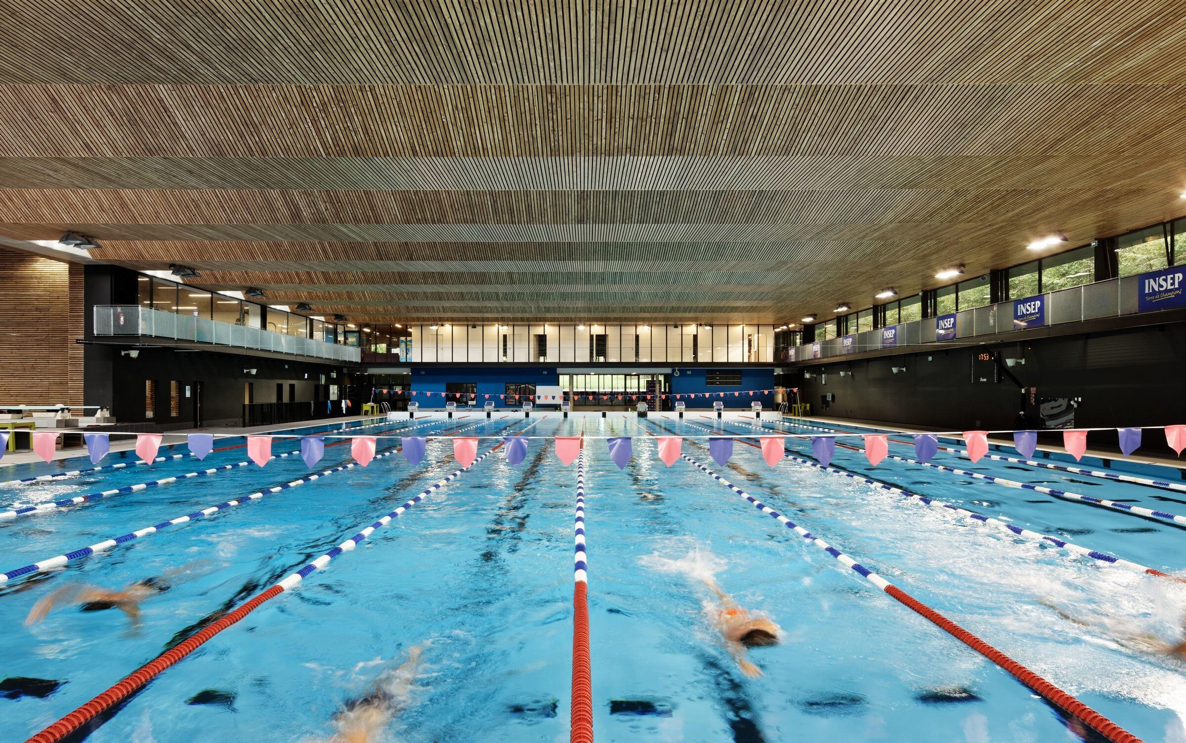 Aquatic Center Christine Caron - INSEP