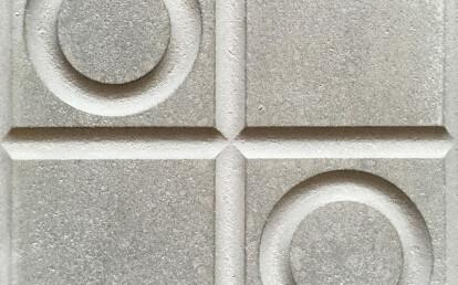 """20x20x3.5 cm, VIA outdoor tile, trottoir tile """"AP12"""""""