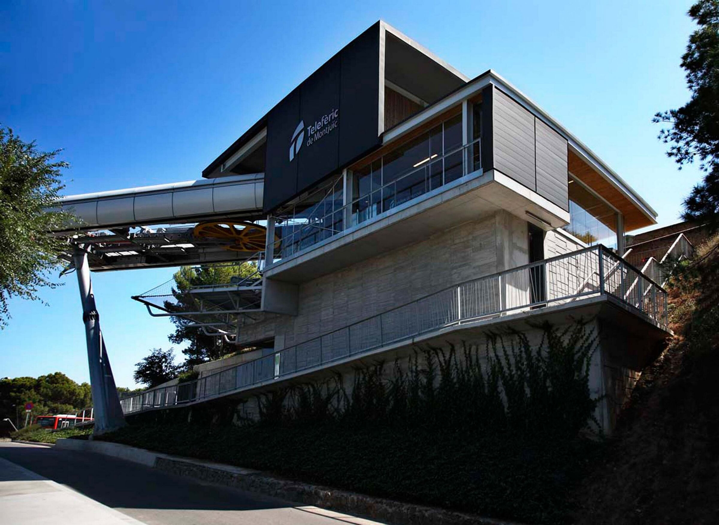New Cable Car Stations in Montjuïc Park