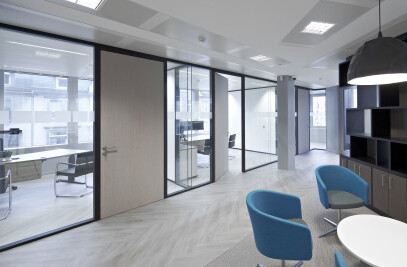 Double glazed partition JB PURE 100