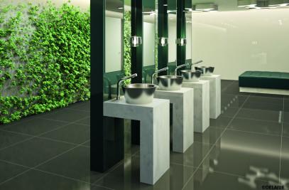 Tall BINOPTIC for washbasins