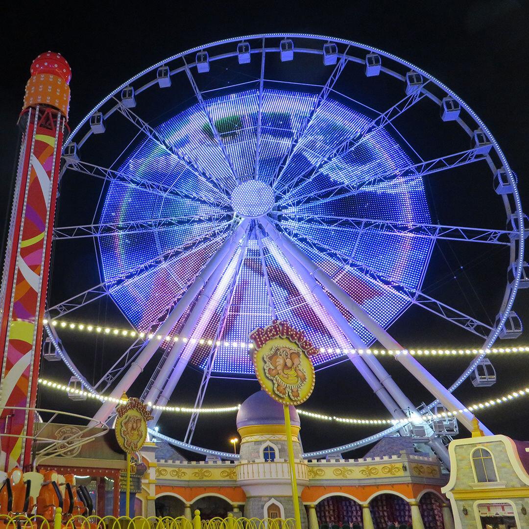 X-LED Wheel of the World