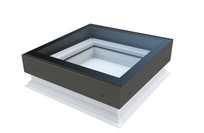 D_Z-A flat roof window with a slope