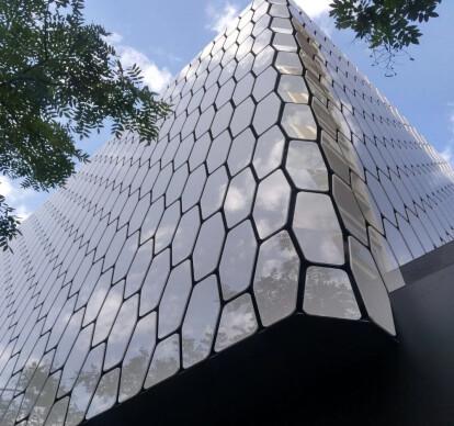 Dekton Xgloss Stonika ventilated facades