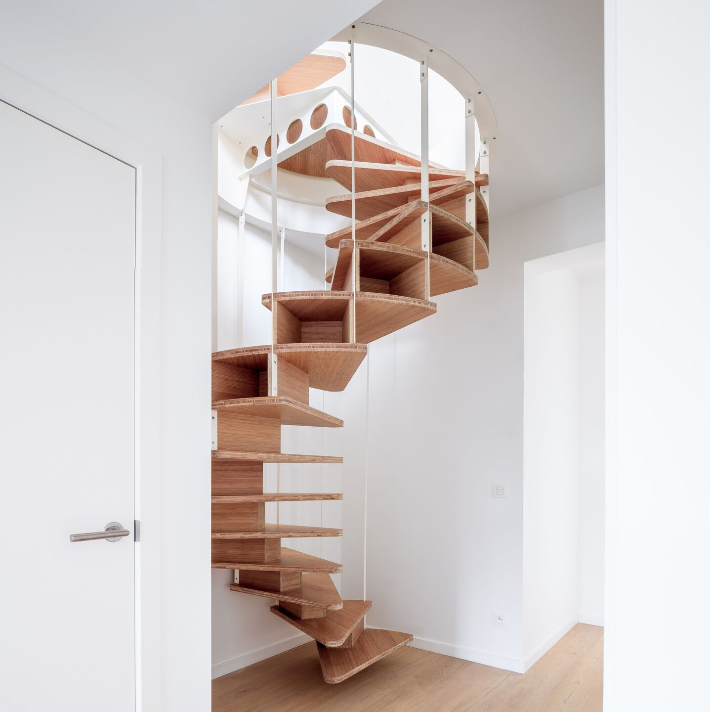 Double Olmo, The Architectural Staircase