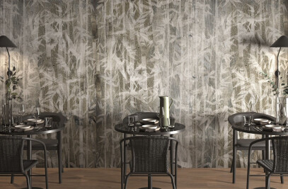 Allure: porcelain stoneware wallpaper
